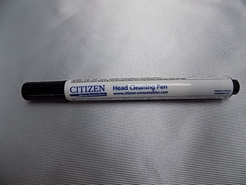 Printerhead cleaning pen Citizen